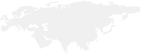 Карта регионов внедрения наших технологий